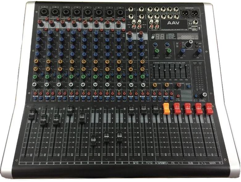 mixer AAV chính hãng cho dàn âm thanh đám cưới