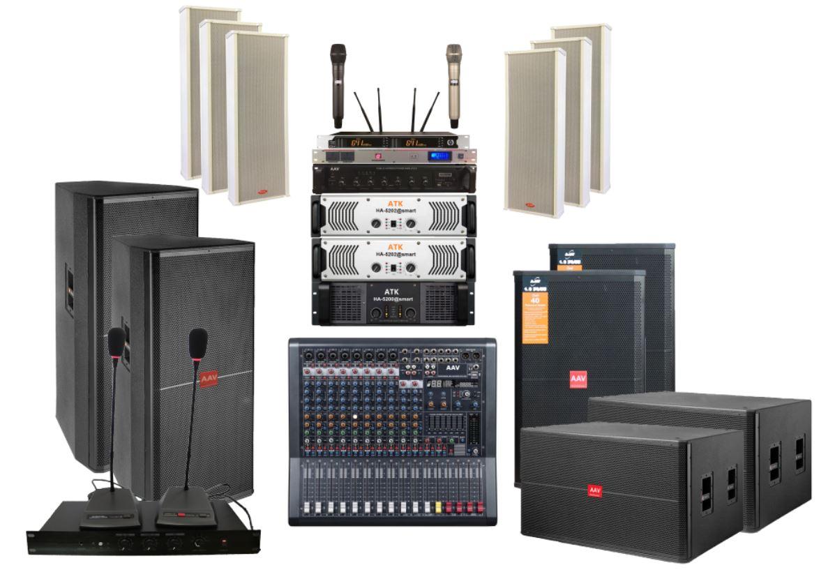 hệ thống âm thanh ánh sáng nhà văn hóa huyện