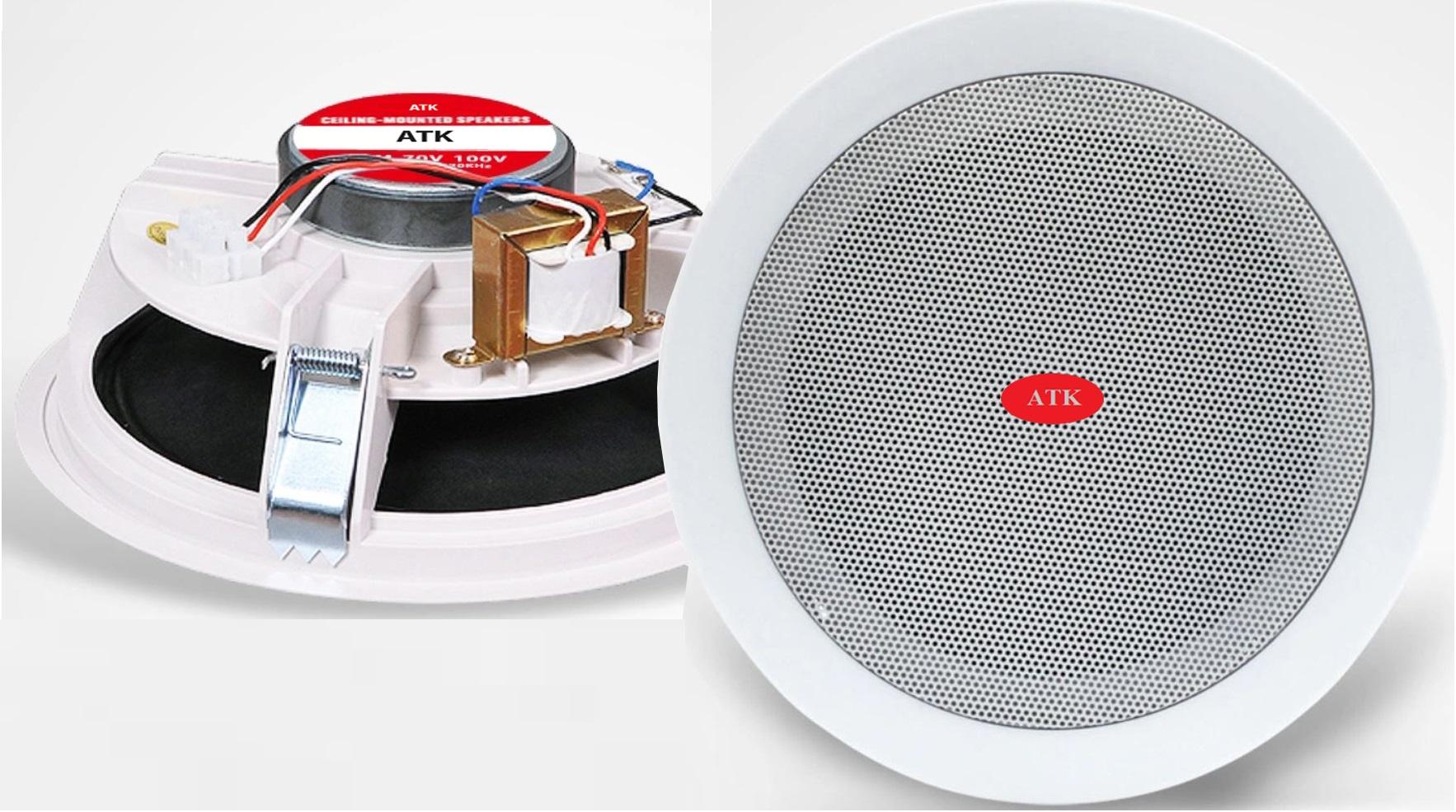 loa âm trần chất lượng cao cho hệ thống âm thanh siêu thị