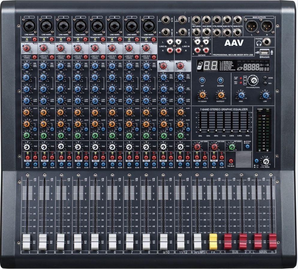 mixer cho dàn âm thanh sân khấu chuyên nghiệp