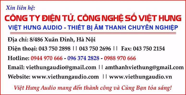Việt Hưng phân phối các dòng tăng âm truyền thanh AAV cao cấp